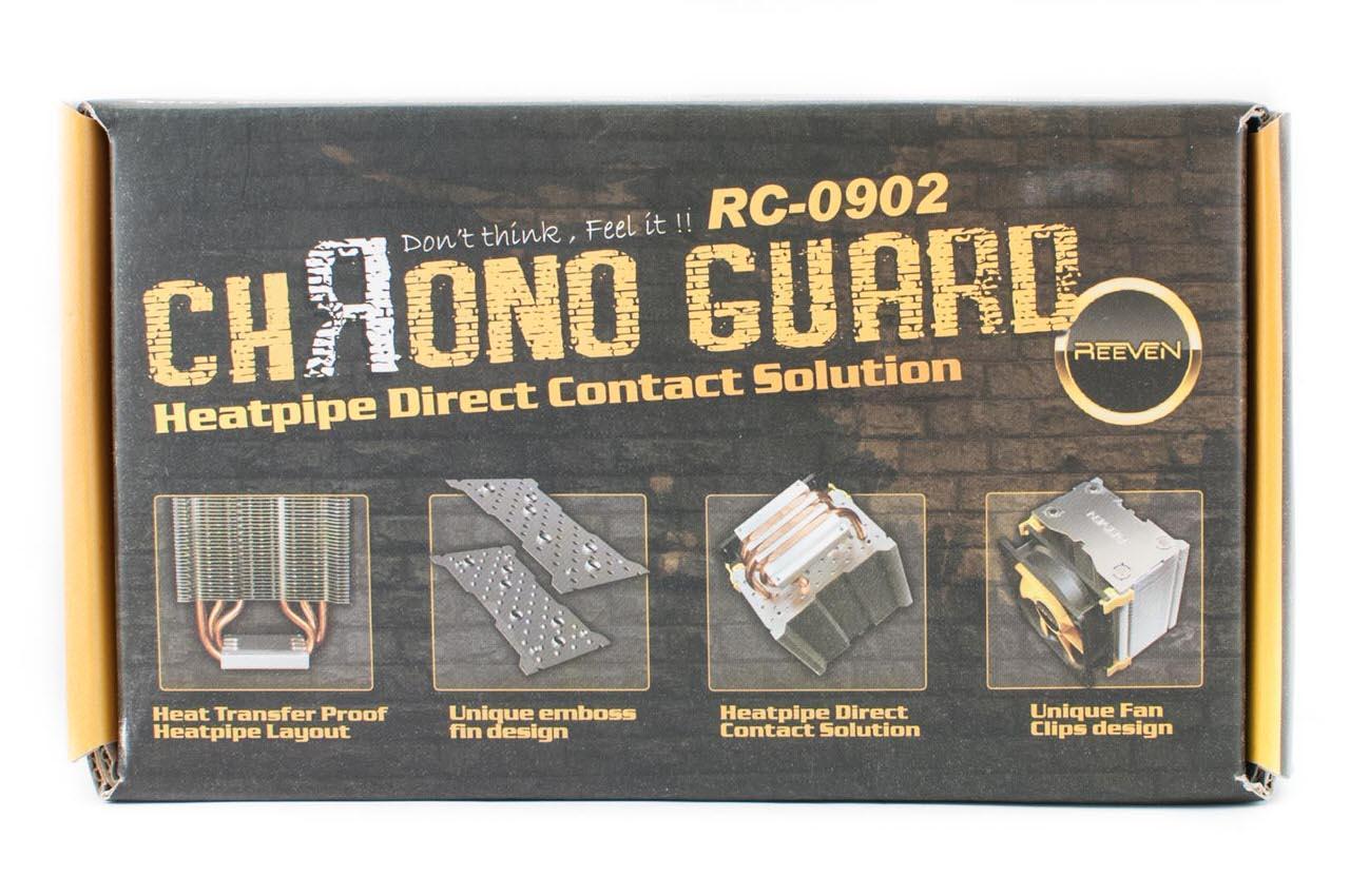 Обзор и тестирование процессорного кулера Reeven Chrono Guard (RC-0902)