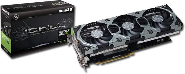 Inno3D представляет две новых разогнанных модели GeForce GTX 780