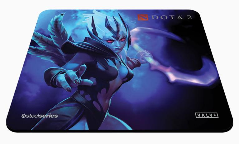SteelSeries совместно с Valve представляют гарнитуру и коврики для мыши Siberia v2 Dota2 Special Edition