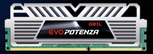 GeIL представила новую линейку оперативной памяти EVO POTENZA