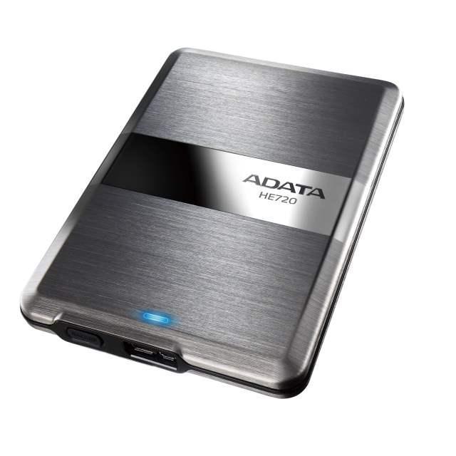 Один из самых тонких жестких дисков ADATA HE720 теперь объемом 1 терабайт!