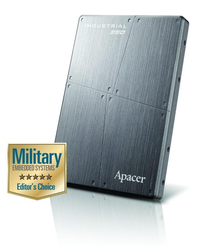 На выставке DSEI 2013 компания Apacer продемонстрирует свои продукты и технологии для оборонно-промышленной индустрии