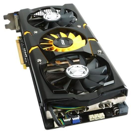 MSI обьявляет о старте продаж видеокарты MSI GeForce GTX 780 Lightning