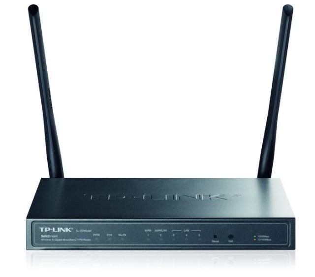 Беспроводной VPN-роутер TP-LINK TL-ER604W для малого и среднего бизнеса