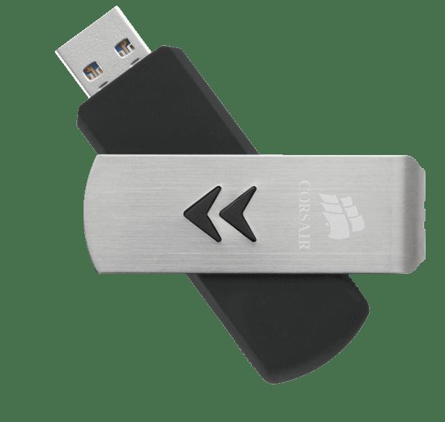 Corsair объявляет о начале продаж трех новых моделей флэш-накопителей USB 3.0 Flash Voyager