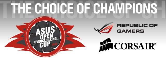 ASUS анонсирует финал европейского чемпионата по оверклокингу ASUS Open Overclocking Cup 2013