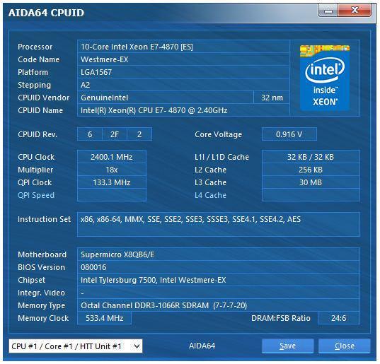 Вышла новая версия AIDA64 3.20 с поддержкой Windows 8.1