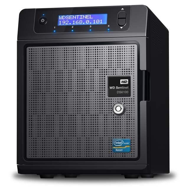 WD представляет ультракомпактные сервера приложений  с функциями сетевого хранилища