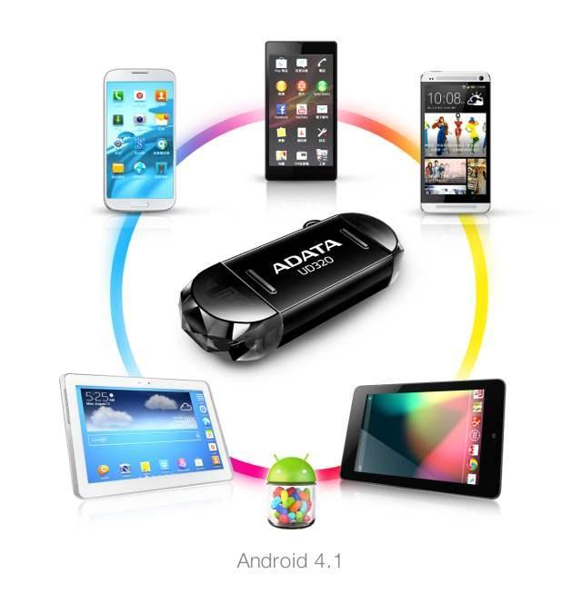 ADATA DashDrive Durable UD320 USB теперь подключается к смартфонам и планшетам