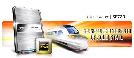 ADATA представляет ультратонкий внешний твердотельный накопитель – Dash Drive Elite SE720