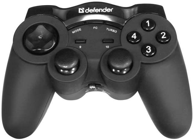 Defender представляет беспроводной геймпад Game Racer Wireless G2