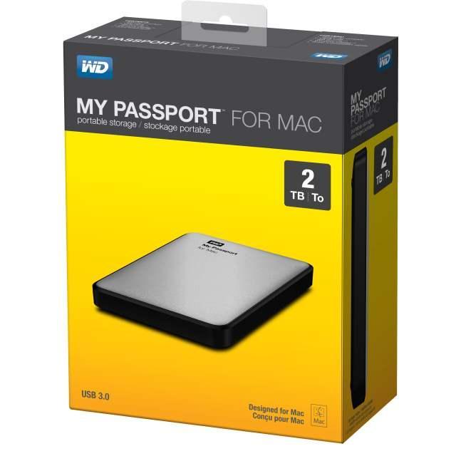 WD объявила о начале поставок в Россию накопителей MY PASSPORT для компьютеров MAC