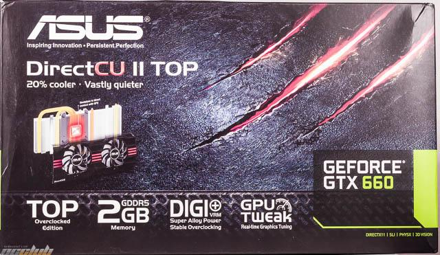 ASUS GeForce GTX 660 DirectCU II TOP