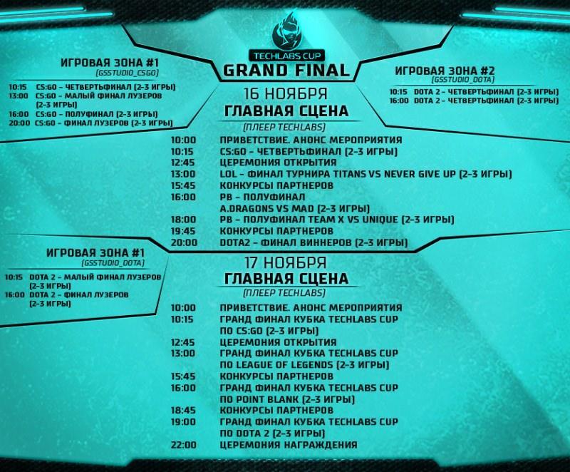 Онлайн-трансляция Гранд-финала TECHLABS CUP 2013 из Stadium Live