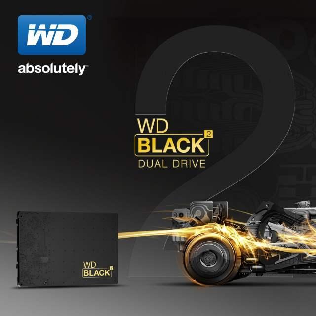 Компания WD представила первое в мире устройство хранения данных, сочетающее в себе жесткий диск и  твердотельный накопитель