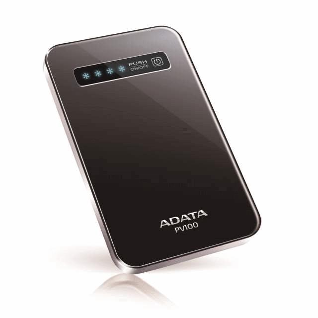 ADATA представляет внешний аккумулятор PV100