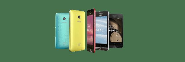 Смартфоны ASUS ZenFone 4, ZenFone 5 и ZenFone 6