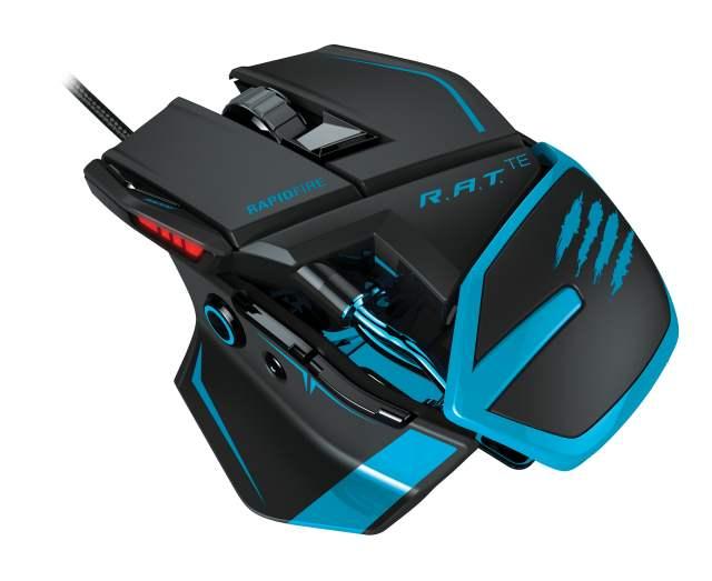 Игровая мышь Mad Catz R.A.T TE  - мечта киберспортсмена