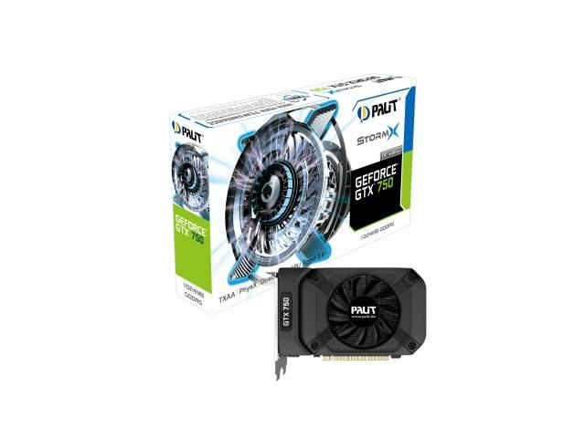 Компания Palit выпускает видеокарты GeForce GTX 750 на основе новой энергоэффективной архитектуры Maxwell