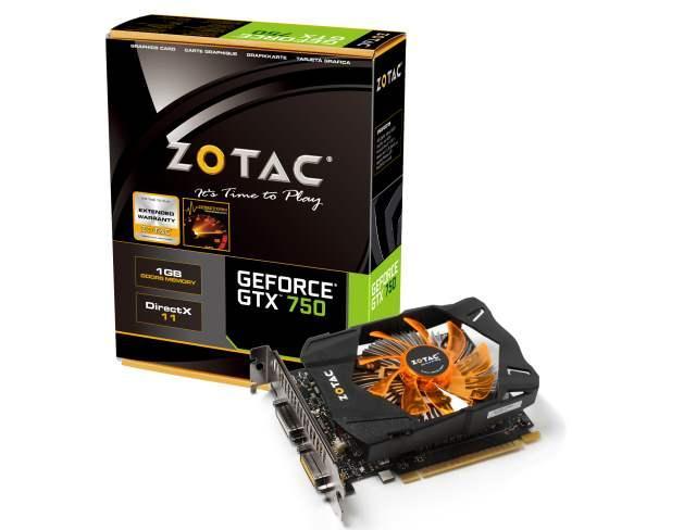 Компания ZOTAC запускает новые производительные видеокарты GTX 750 Series и флагман модельного ряда GTX Titan Black