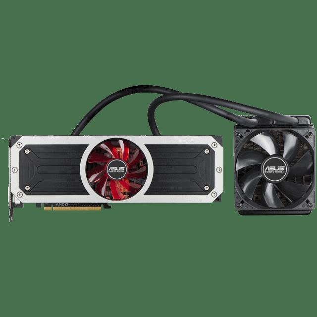 ASUS представляет видеокарту R9 295X2: Два графических процессора и гибридная система охлаждения