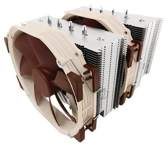 Компания Noctua представила новый флагманский процессорный кулер NH-D15