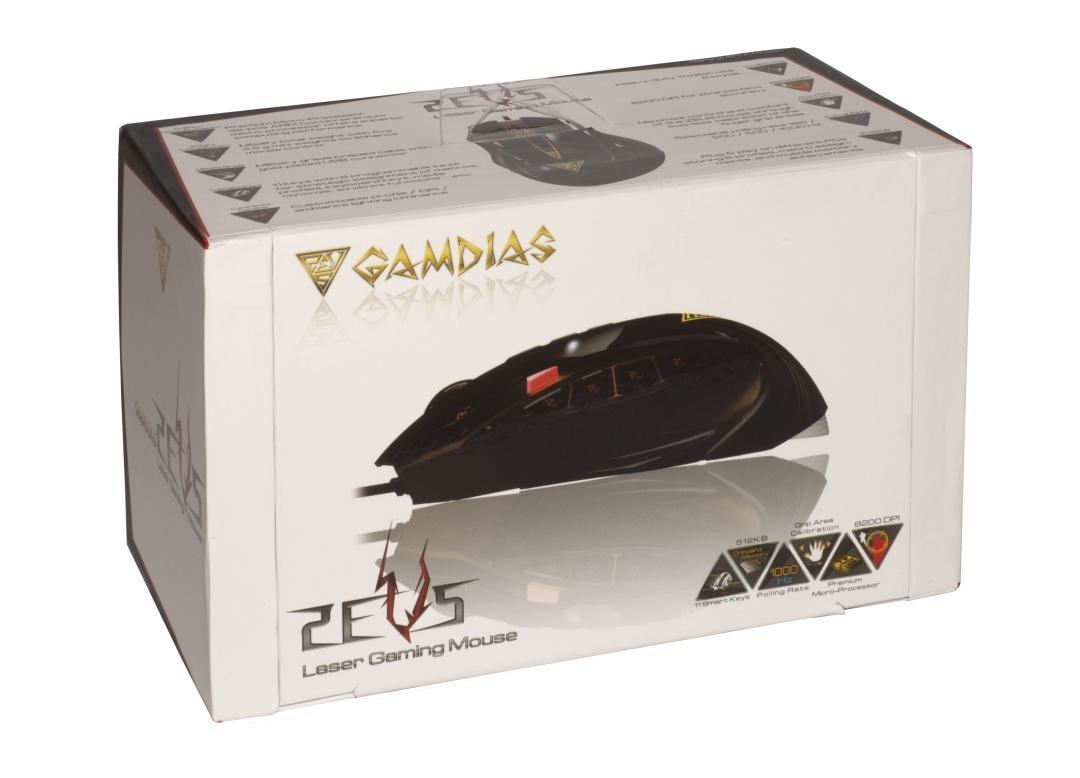 Мышь GAMDIAS ZEUS для любителей жарких баталий