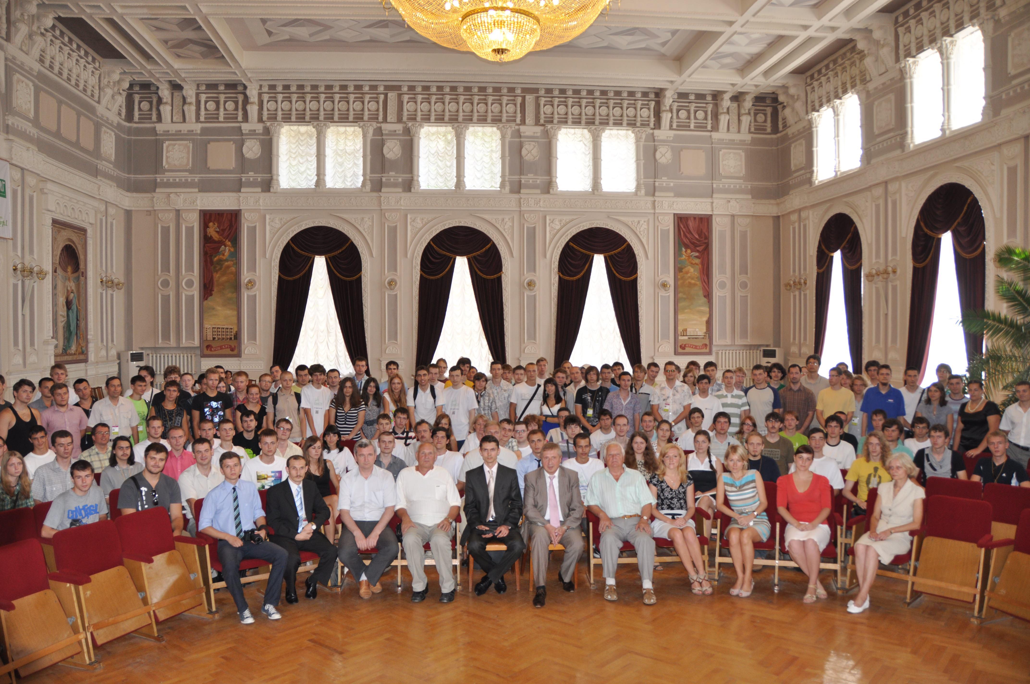 Девятая международная открытая студенческая олимпиада по программированию имени С.А. Лебедева и В.М. Глушкова «KPI-OPEN 2014»