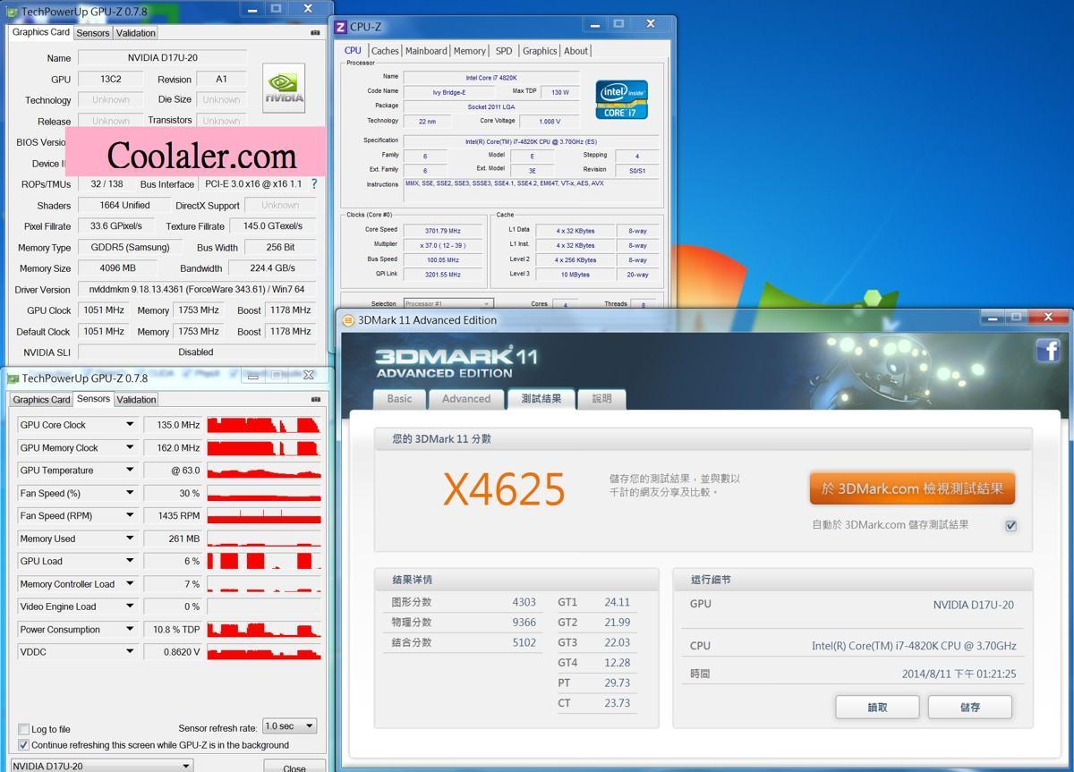 nvidia gtx870 benchmark 1-1