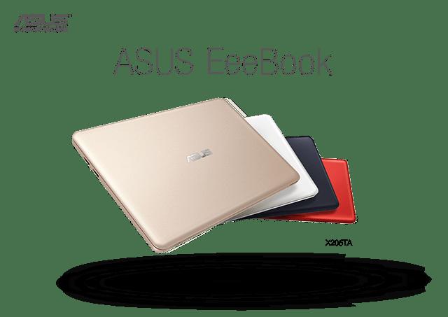 ASUS представляет EeeBook X205