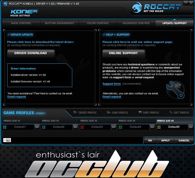 Обзор игровой мыши ROCCAT Kone[+]