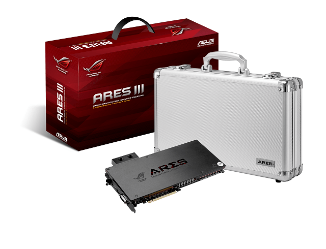 ASUS ROG Ares III worlds fastest watercooled gaming graphics card