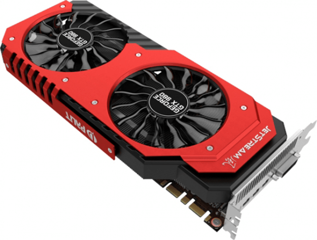 Palit анонсирует GeForce GTX 980 (Super) JetStream