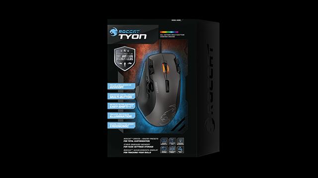 В продажу поступила игровая мышь ROCCAT Tyon