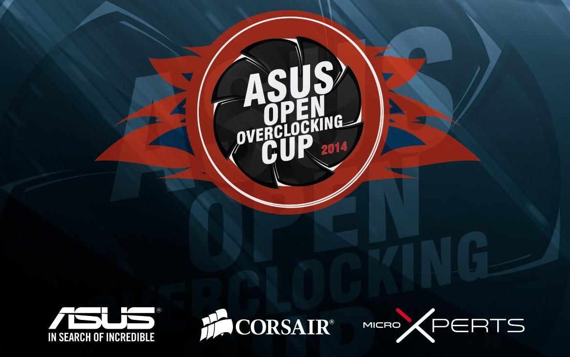 Финал чемпионата по оверклокингу ASUS Open Overclocking Cup 2014 состоится в Москве 22 ноября