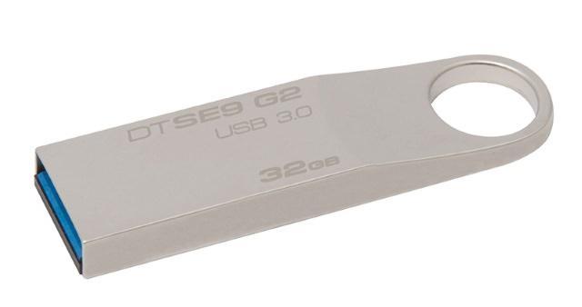 USB-накопитель Kingston DataTraveler SE9 G2: лёгкий, стильный, быстрый