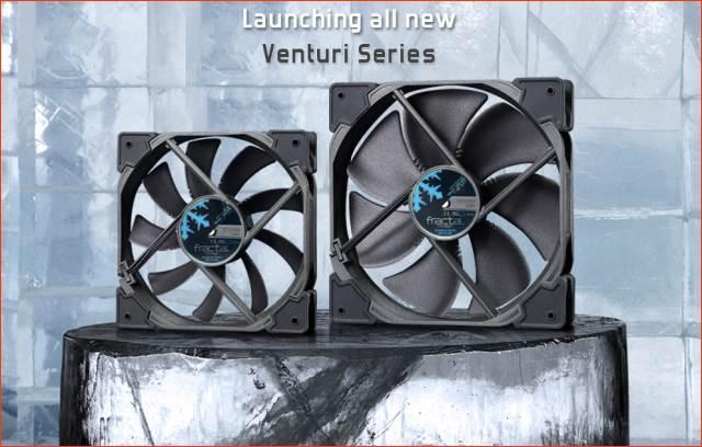 Новая серия вентиляторов Venturi от Fractal Design