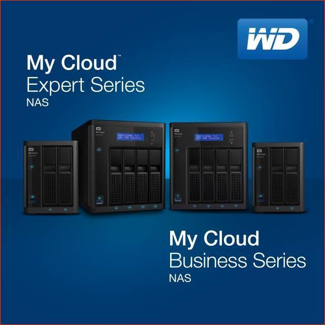 Western Digital дополнит семейство My Cloud высокопроизводительными NAS для бизнеса и профессиональной деятельности