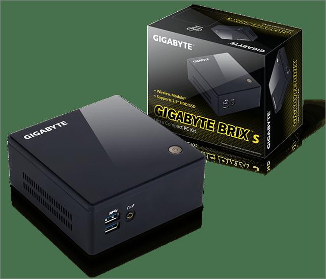 Обзор компактного компьютера Gigabyte Brix S – BXCEH-3205