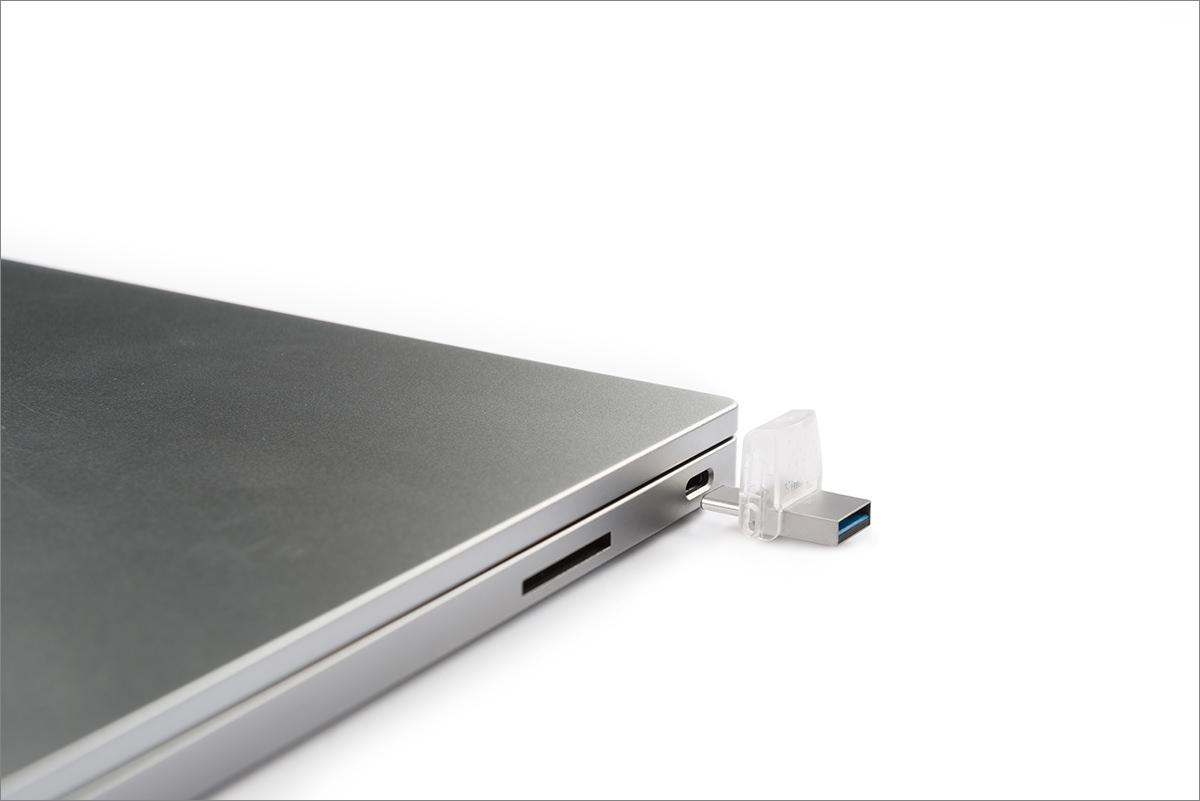 Тестирование флешки Kingston с интерфейсом USB Type-C – DataTraveler microDuo 3C