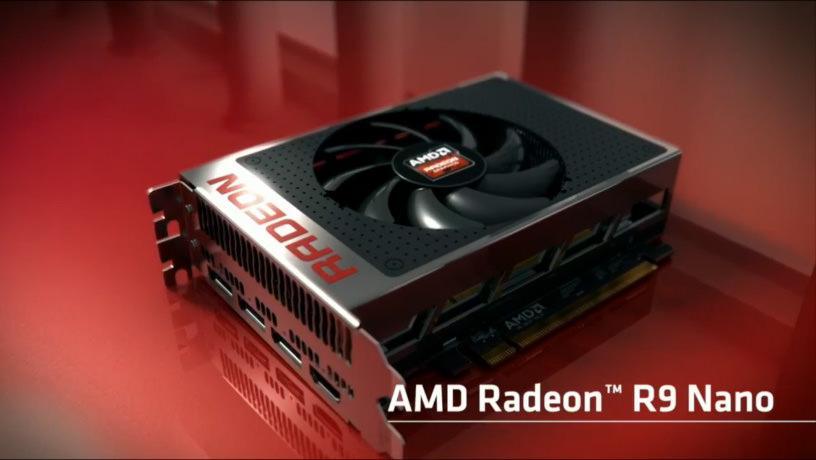 AMD назвала дату выхода R9 Nano