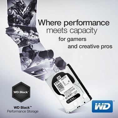 WD представляет накопители WD Black объемом до 6 ТБ