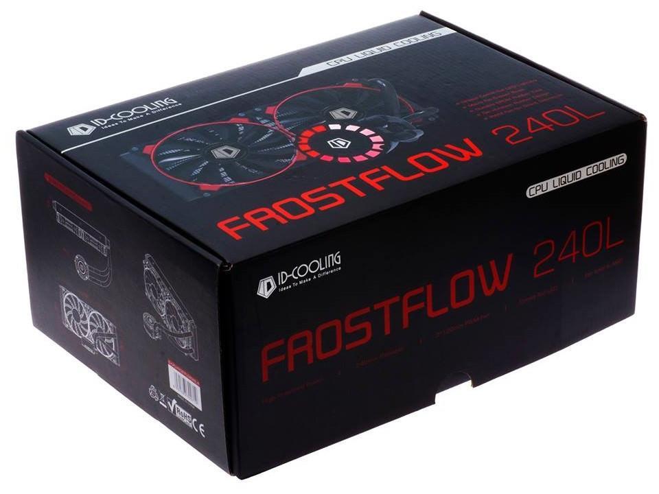 "ID-Cooling представила процессорный кулер типа ""все в одном"" FrostFlow 240L"
