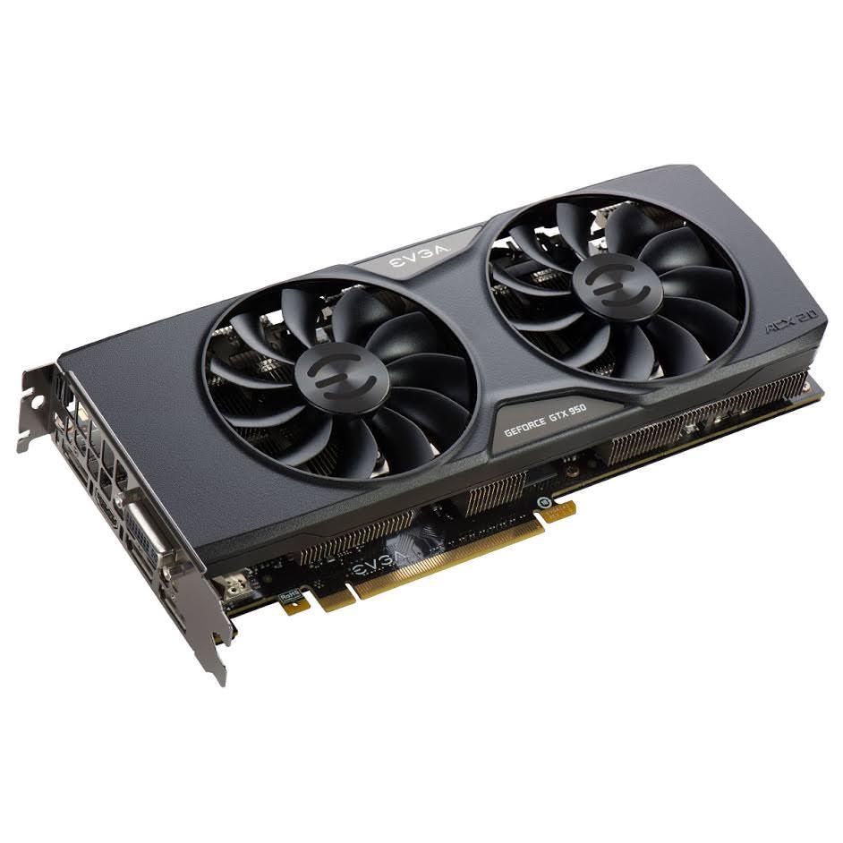 Компания EVGA представляет видеокарту GeForce GTX 950 ACX 2.0
