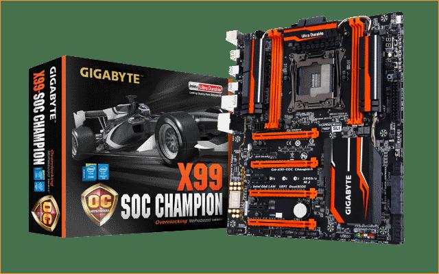 Обзор материнской платы Gigabyte GA-X99-SOC Champion. Оверклокерская радость.