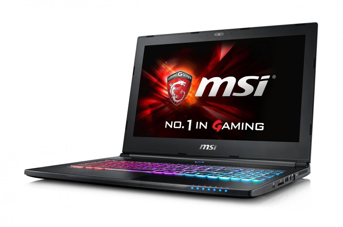 MSI анонсировала новые игровые ноутбуки с процессорами Skylake