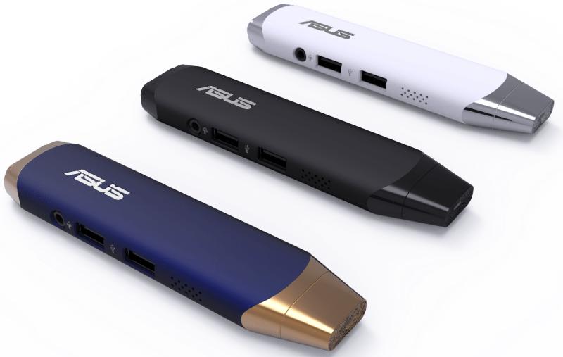 ASUS анонсировала новый флэш-компьютер VivoStick на Windows 10
