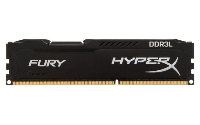 Новые модули памяти в линейках Kingston HyperX FURY и Impact