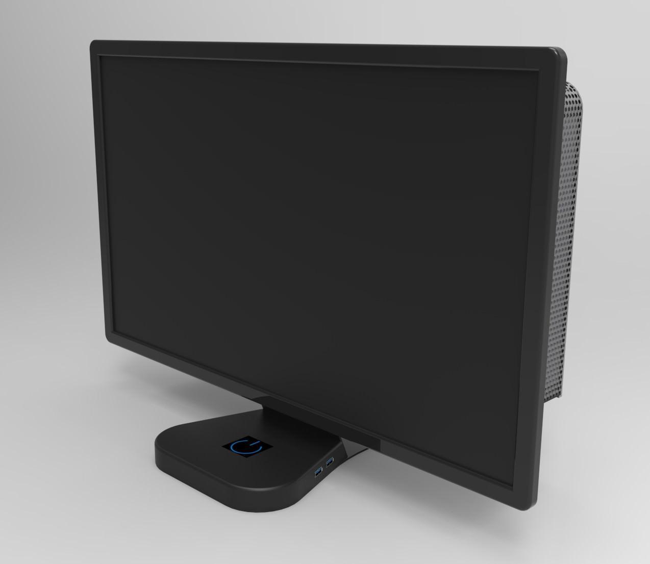 """Crono Labs разрабатывает корпус, превращающий мониторы в мощные игровые устройства """"все в одном"""""""
