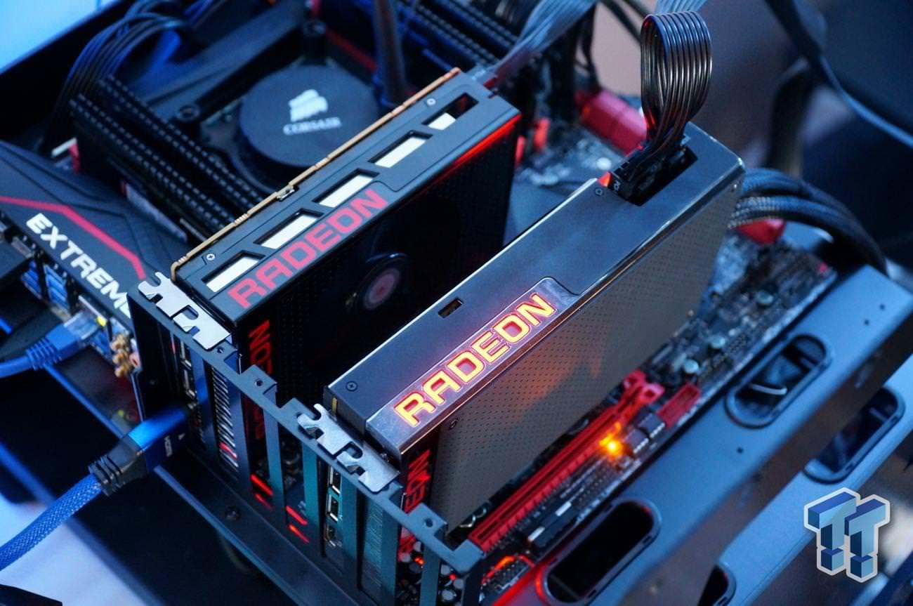 Микровидеокарта AMD Radeon R9 Nano может использоваться в комбинации с Fury X